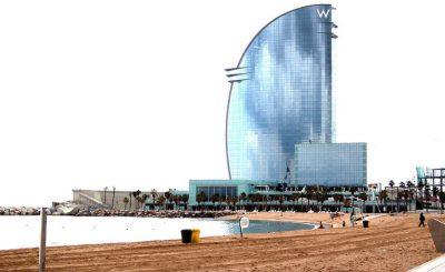 El mar en Barcelona en todo su esplendor