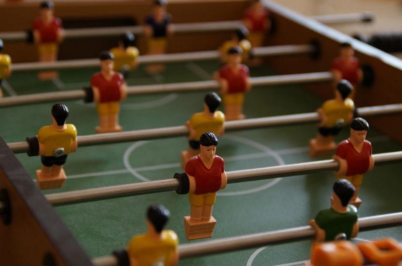 Tipos de futbolines disponibles en el mercado