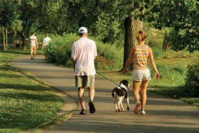 Caminar 20 minutos al dia