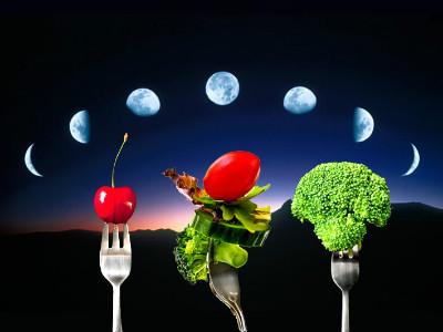 Que es la dieta de la luna