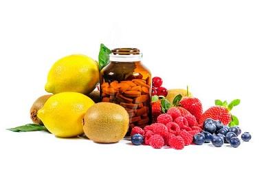 Suplementos con Vitamina