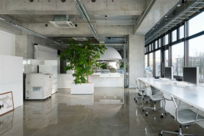 Buena apariencia oficina
