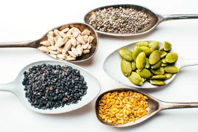 Semillas comestibles y beneficiosas