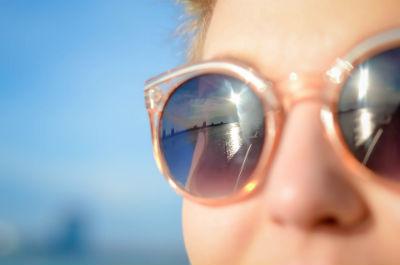 Gafas de sol para proteger los ojos