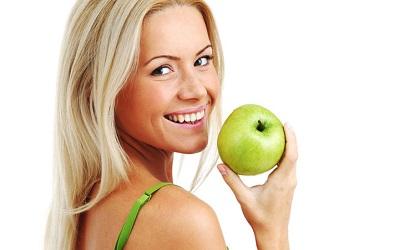 Menu de la Dieta de la Manzana