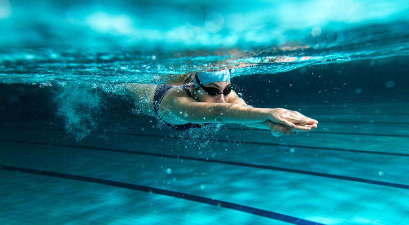 Calambres en los pies al nadar