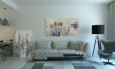 Colores claros para las paredes