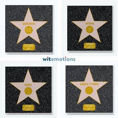 Estrella Hollywood Personalizada