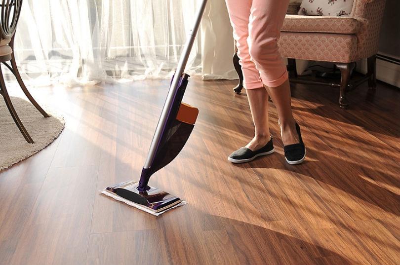 Mantener el suelo limpio