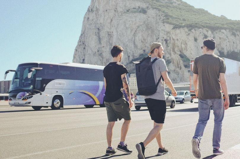 Viajar en grupo en autobus