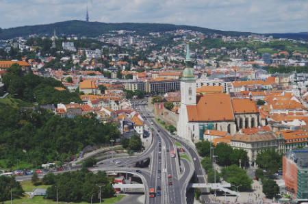 donde alojarse en bratislava