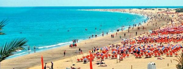 Playa del ingles Canarias