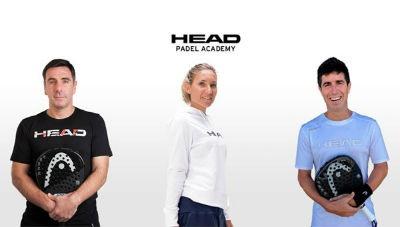 Head Padel Academy y sus tres experimentados entrenadores