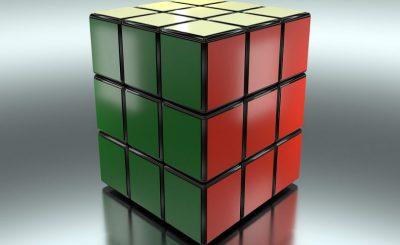 cubo de rubik completado