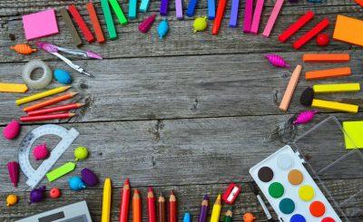 herramientas de escuela para papeleria