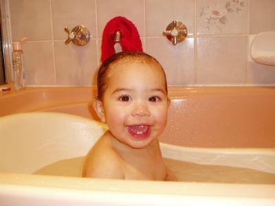 Accesorios para bebé de la bañera a la cuna