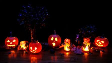 Decoración para una fiesta de halloween