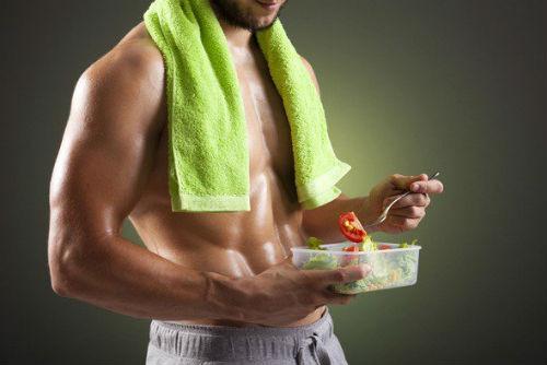 Alimentos antes del gimnasio