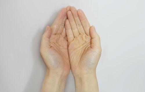 reconocer el hormigueo en las manos