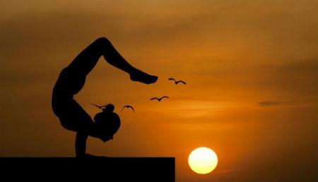Yoga equilibrio