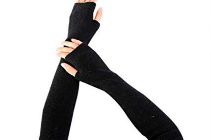 Protocolo para llevar guantes de vestir largos