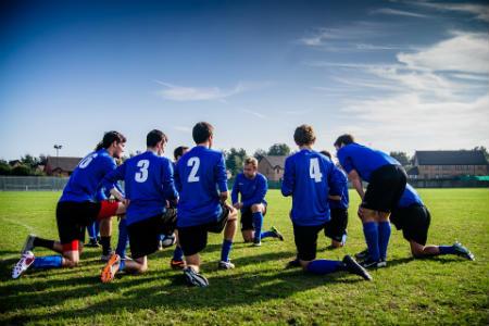 campamento de futbol