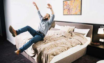 Espumas perfectas para la cama
