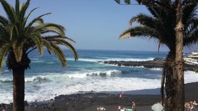 Playa la Arena en Tenerife