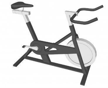 Ejercicio con bicicleta estática