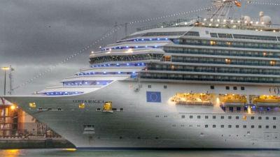 Navidad en un crucero