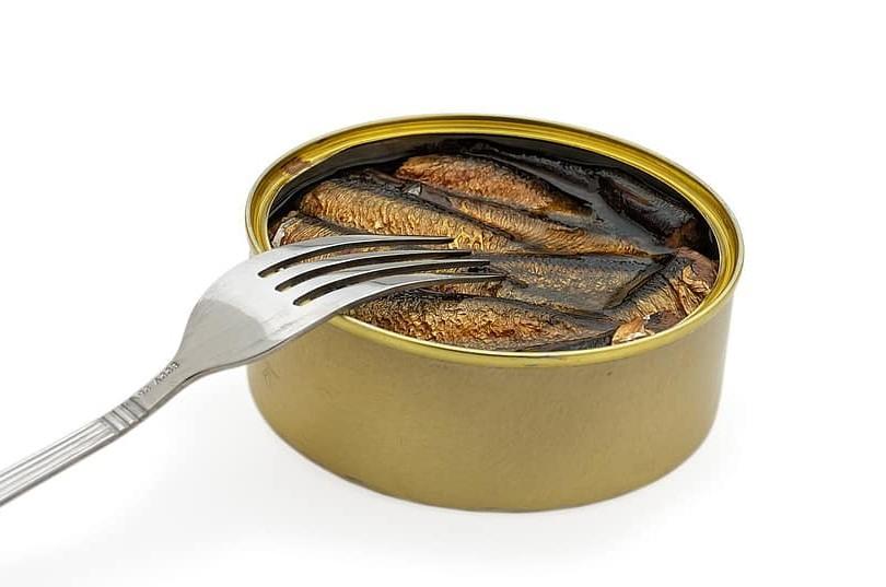 Conservas de pescado con productos ecológicos