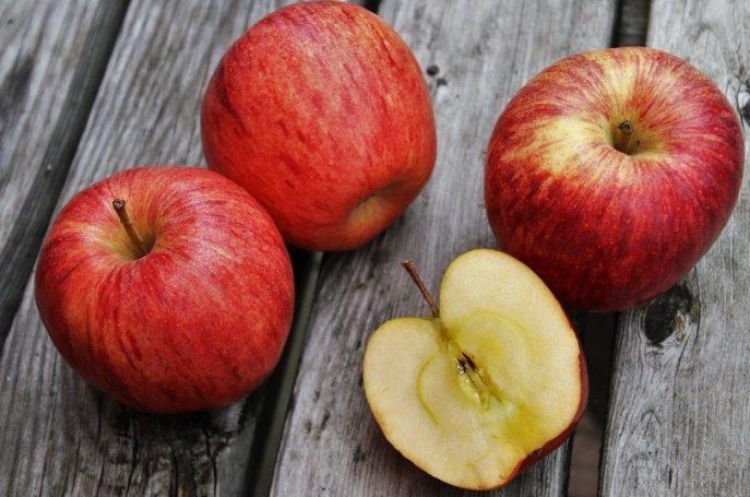 Variedad de manzana más saludable