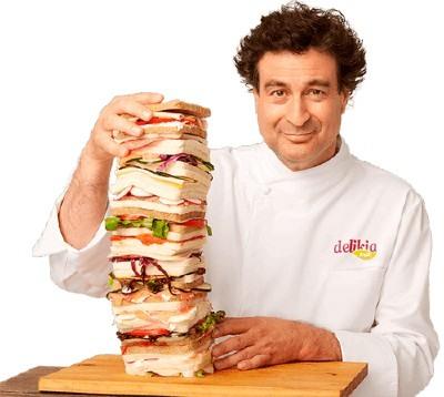 El sándwich más bueno del mundo Delikia