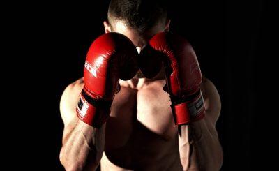 Práctica de boxeo