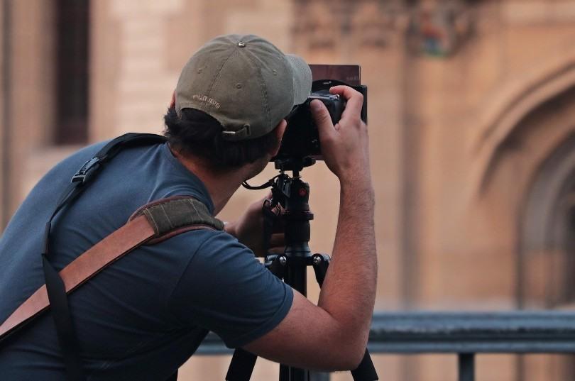 Equipo de fotografía profesional