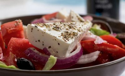 Comida griega vegetariana